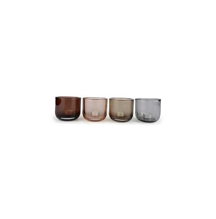 Ljuslykta - ange vilken färg du vill ha! Sand, brun, sotad svart, grå