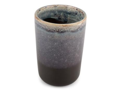 Tandborstmugg  Nyp grön keramik 7,5 x 11 cm