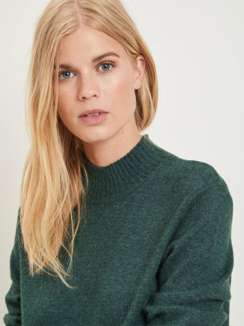 Viril L/S Turtle Neck Pine Grove