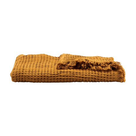 Pläd Mustard längd 170 cm w 120 cm