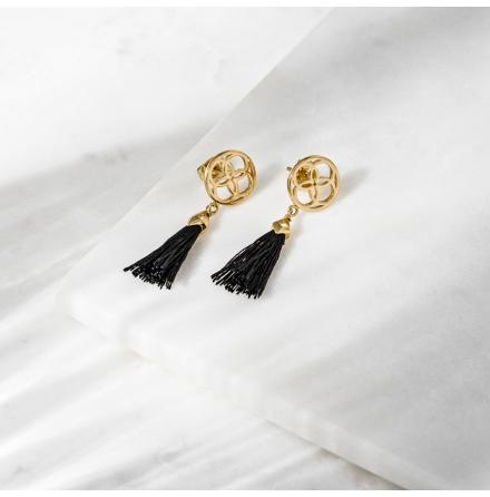 Hokuto Earrings Guld