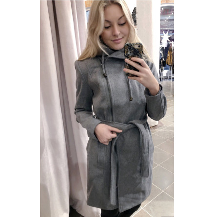 Objjolie coat Light grey