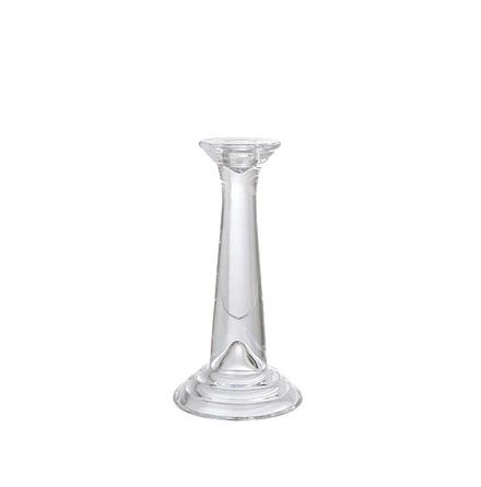 Ljusstake klarglas för rustikljus