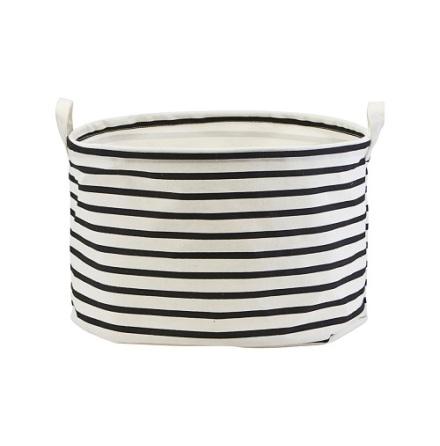 Storage Stripes Black White