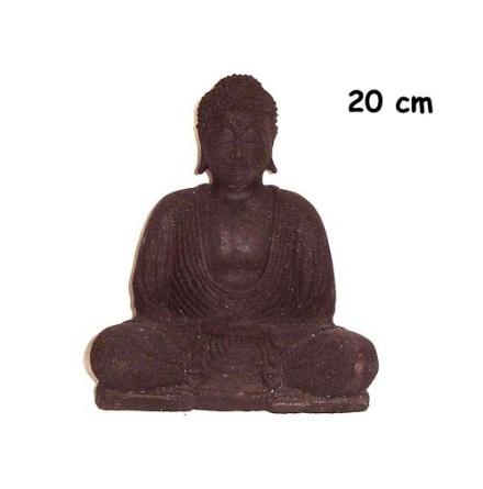 Buddha Ljushållare 20 cm black