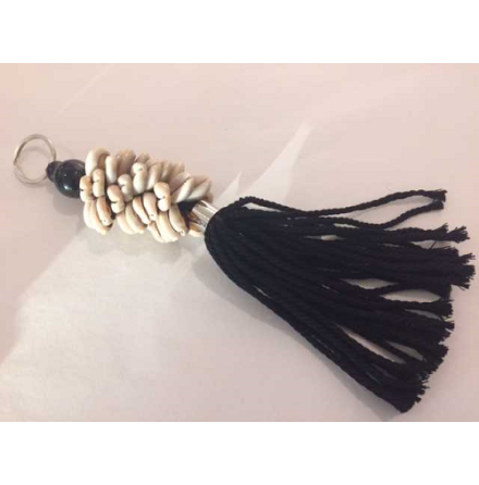 Joia Keyring cowry black