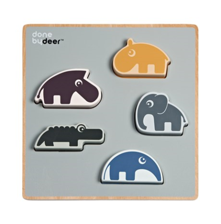 Chunky Play Puzzle Deer Friends