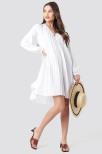 Ls Pleated Dress 34