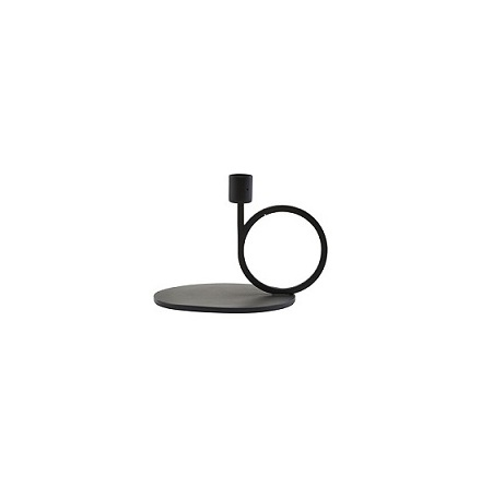 Candle Stand CirQue black