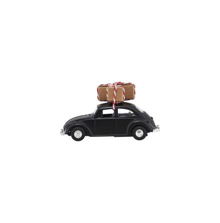Decoration Mini X-Mas Car black