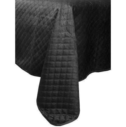 Överkast dubbelsäng 260x260 cm mörkgrå