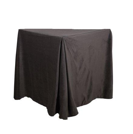 Sängkappa 45 cm mörkgrå 180 cm x 45 cm