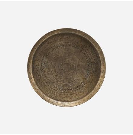 Tray Jhansi Antique Brass finish