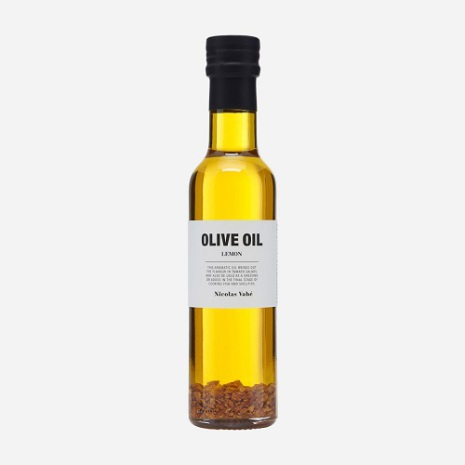 Olive Oil with lemon peel and lemon flavouring