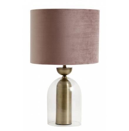 Galaxy lamp base glass/metal