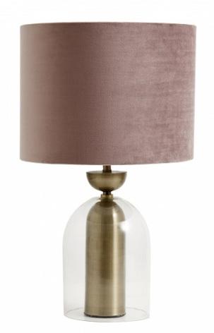 Lamp Shade velvet rose