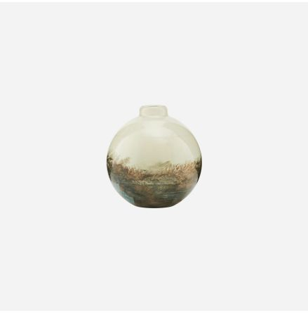 Vase Earth Beige/metallic