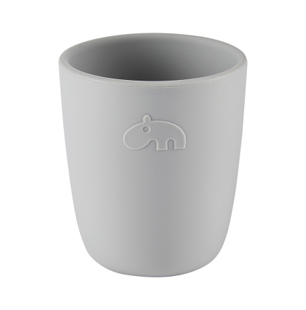 Silicone Mini mug grey