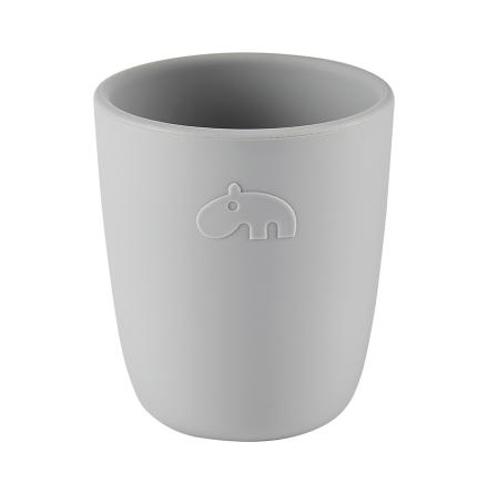 Silicone Mini mug grey