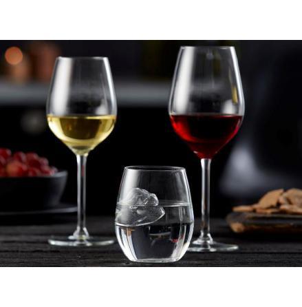 Lyngby Glas Juvel Vitvinsglas 38 cl 4-pack
