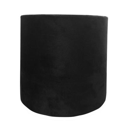 Lampskärm Black Velvet med innerfoder