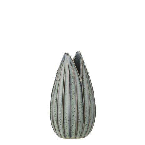 Haiya Vase dia 8x14,m5 Dustry Grey