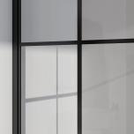 Industrivägg två väggar + en dörr vit