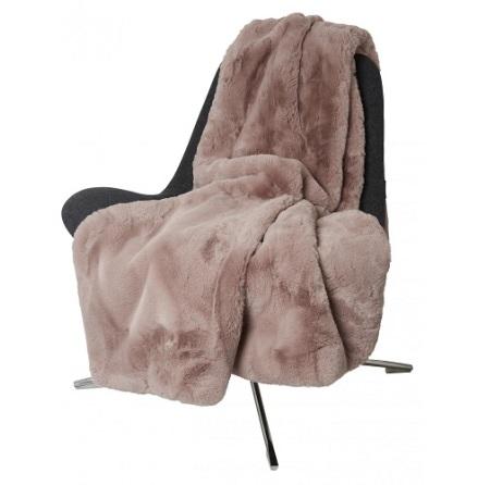Fluffy Blanket Faux fur 120x180 Rosa