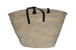 Väska palmblad läderband Nooli