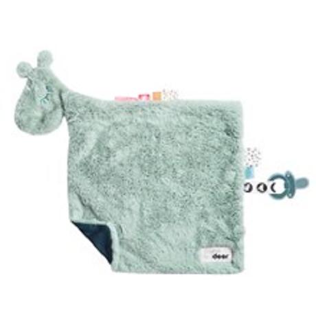 Comfort blanket Raffi Blue