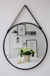 Spegel med rem