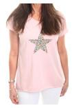 Nova Top Star Onesize Pink