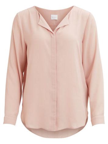 Vilucy L/S Shirt Adobe Rose