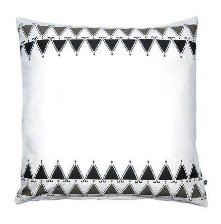Kuddfodral, Trianglar 50x50 cm