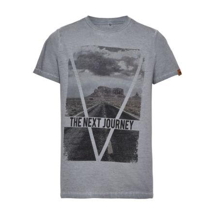 Kortärmad T-shirt, Blå