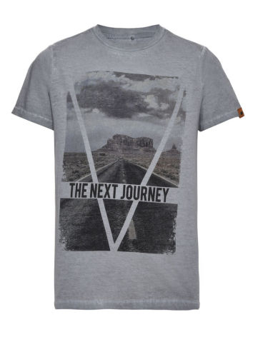 Kortärmad T-shirt, Blå, LMTD
