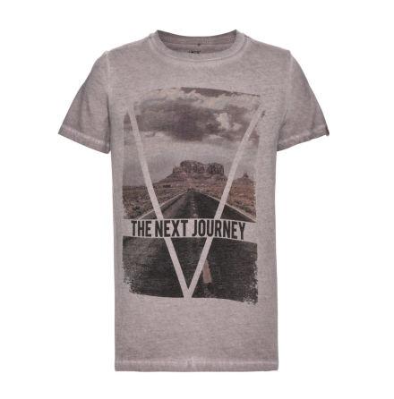 Kortärmad T-shirt, Zinc