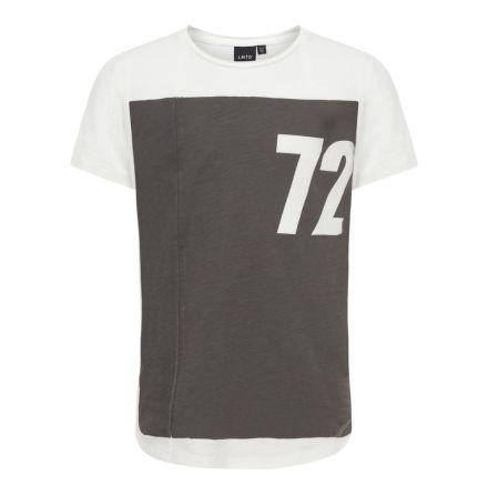 Kortärmad T-shirt, Vit
