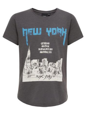 Kortärmad T-shirt, Asfalt, LMTD