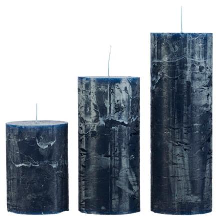 Rustikljus, Blå 7x15 cm