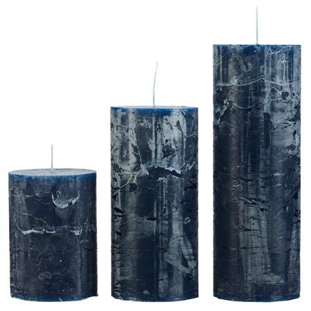 Rustikljus, Blå 7x15 cm, Cozy Living