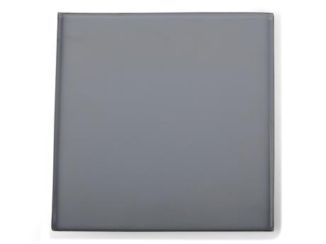 Ljusfat emalj fyrkant litet blå 20x20