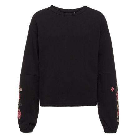 Brodyrprydd Sweatshirt, Svart