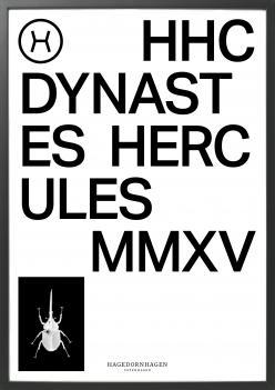 Poster, HHC1 70x100 cm