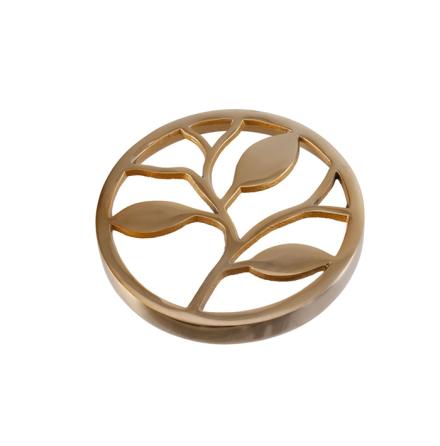 Topp till vas Europe 15 cm, Guld Löv