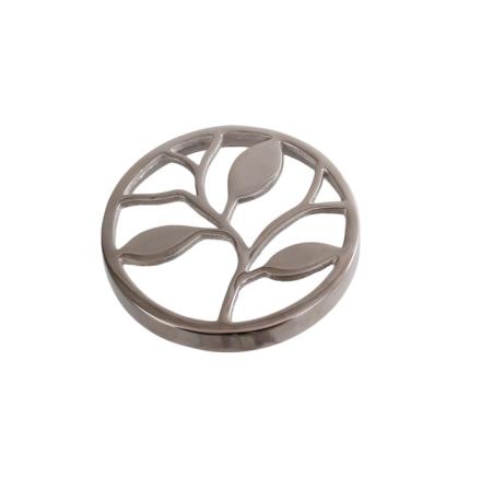 Topp till vas Europe 15 cm, Silver Löv