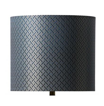 Lampskärm, Beige/Blå/Guld, Watt & Veke