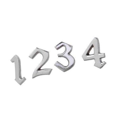 Siffror 1-4, Silver