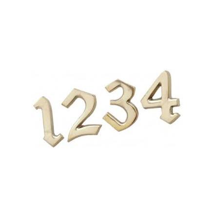 Siffror 1-4, Mässing