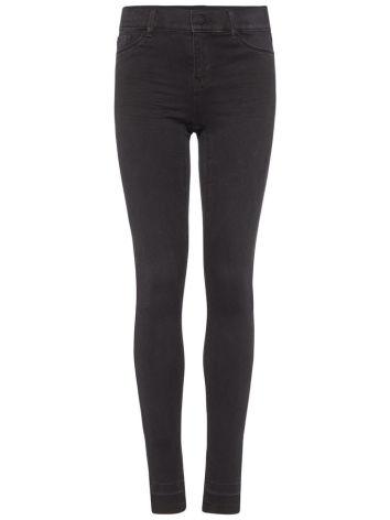 Superstretchiga Skinny Fit-Jeans, Svarta, LMTD